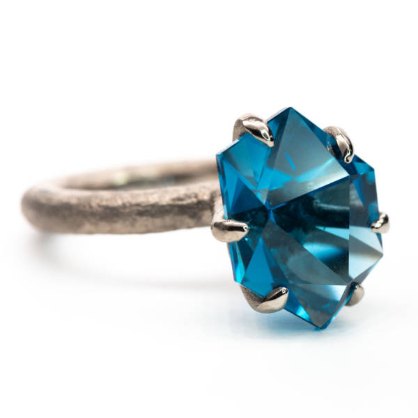 "Century Ring ""Blue Steel"""