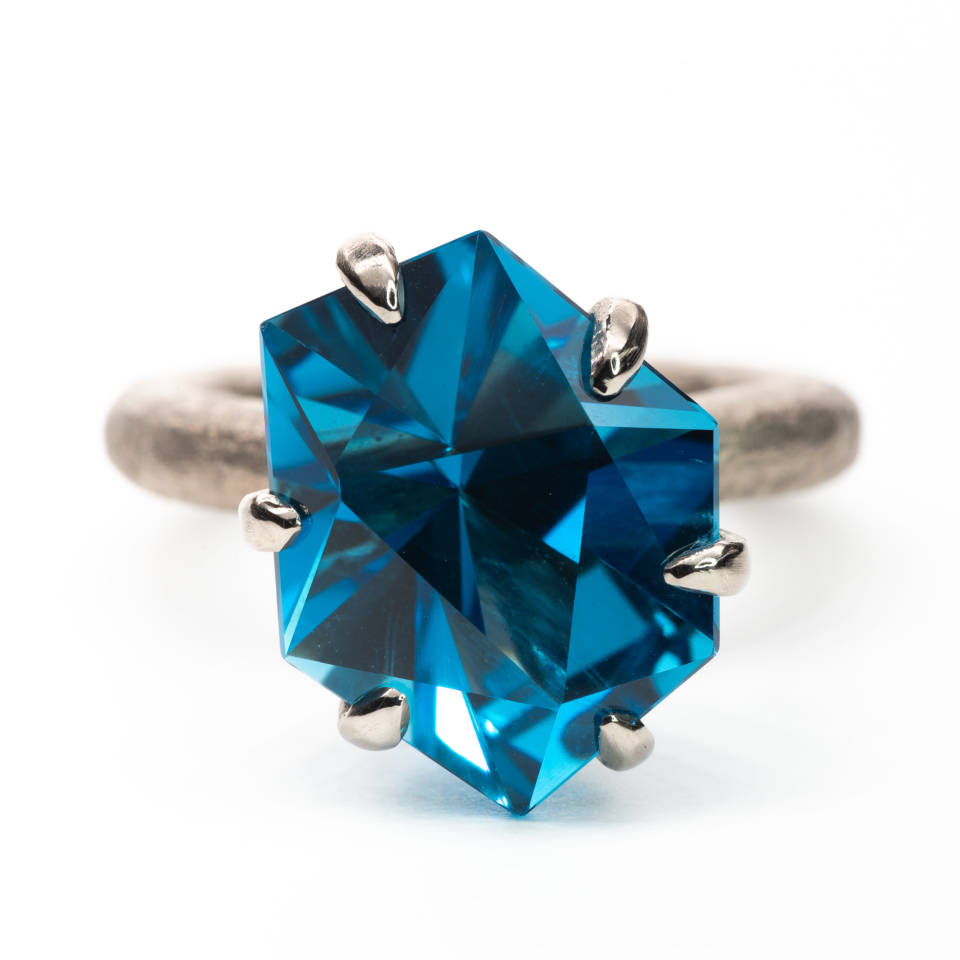 "Century Ring ""Blue Steel"""